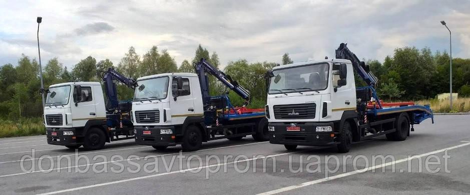 Автомобіль-евакуатор МАЗ-4381N2-310-01