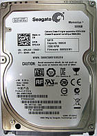 Жесткий диск HDD 500GB 7200rpm 16MB SATA II 2.5 Seagate ST9500423AS 6WR1YAGV, фото 1