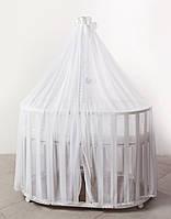 Балдахин для детской кроватки Twins BonBon универсальный white