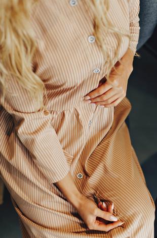 """Платье- рубашка """"Грейс"""" в большом размере, фото 2"""