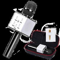 Микрофон Караоке Bluetooth Q7 - Черный, фото 1