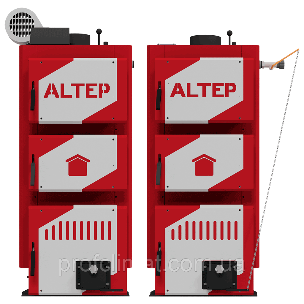 Твёрдотопливный котёл Altep Classic Plus 16 кВт