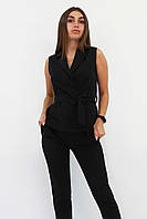 S, M, L, XL / Стильний брючний костюм Archer, чорний