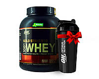 Протеин USA ORIGINAL!!! Optimum Nutrition Whey Gold Standard 2270 г  banana cream банан сливки