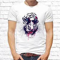 Чоловіча футболка Push IT з принтом Тигр злий