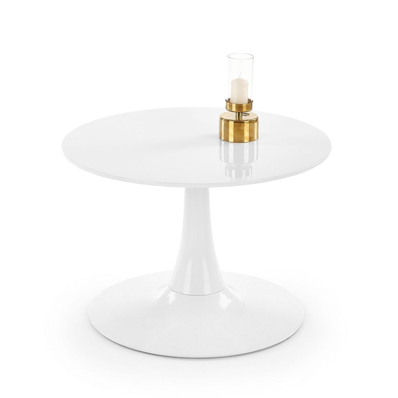 Журнальный столик SLIMA Halmar белый