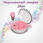 Беспроводные наушники блютуз гарнитура Bluetooth наушники 5.0 Wi-pods DIDO12 ОРИГИНАЛ кейс дизайнера 500mah, фото 7