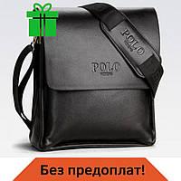 Кожаная мужская сумка Polo Videng