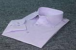 """Светло-сиреневая рубашка с длинным рукавами """"Каштан"""", фото 5"""