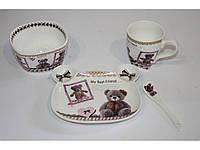 Набор детской посуды - керамика