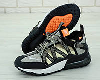 Мужские кроссовки Nike Air Max 270 Browfin (серо-бежевые)