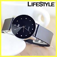 Женские наручные часы-браслет Dark Leathe Geneva