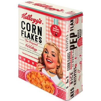 Коробка для хранения Nostalgic-Art Kellogg's - Girl Corn Flakes Collage XL