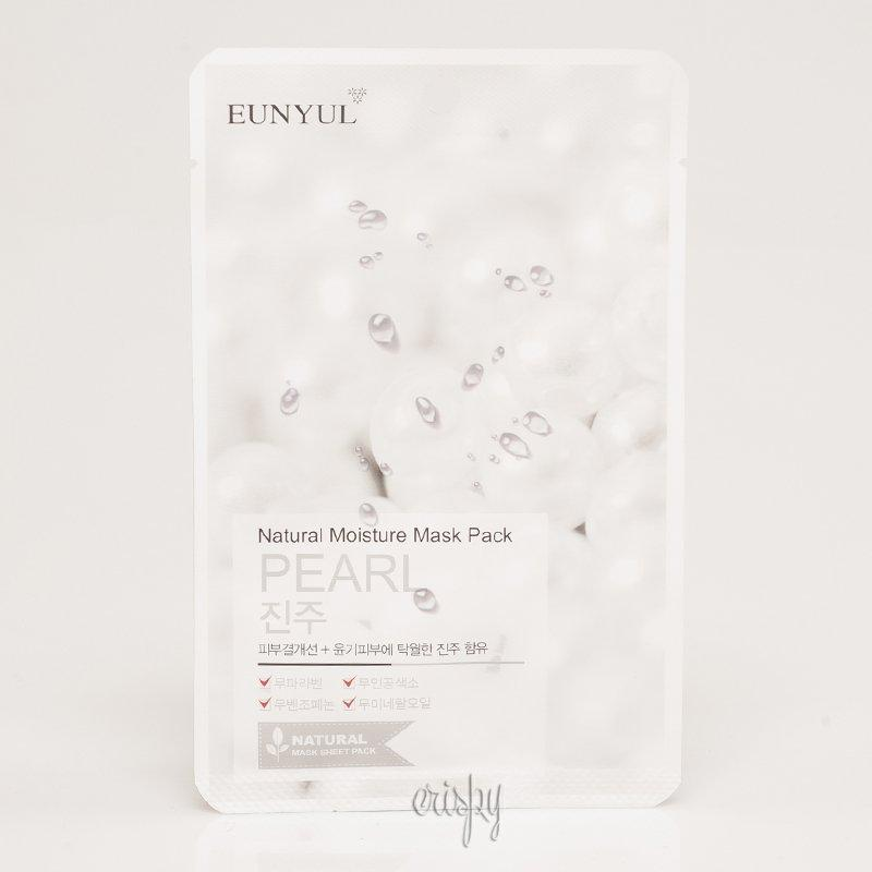 Увлажняющая тканевая маска с жемчугом EUNYUL Natural Moisture Mask Pack-Pearl
