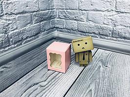 *10 шт* / Коробка / Бонбоньерка / 60х60х75 мм / печать-Пудра/ окно-обычн