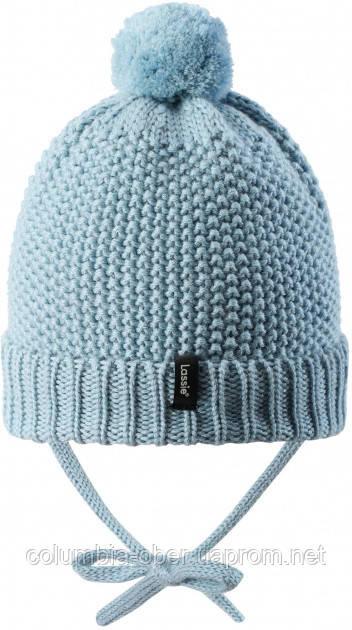 Зимняя шапка-бини для мальчика Lassie by Reima Nomi 718777-6120. Размеры 38/40 - 50/52.