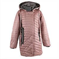 """Пальто демисезонное для девочек """"Yinuo"""" 152 розовый 19-3"""