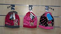 Шапки для девочек оптом, Disney, 52-54 рр., арт. 88871