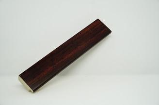 Багет дерев'яний  коричневий темний