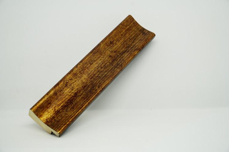 Багет дерев'яний золото потерте