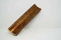 Багет дерев'яний золото потерте, фото 1