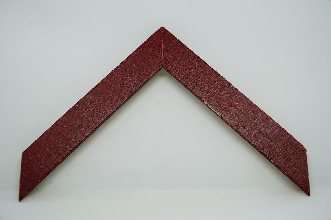 Багет дерев'яний червоний паркет