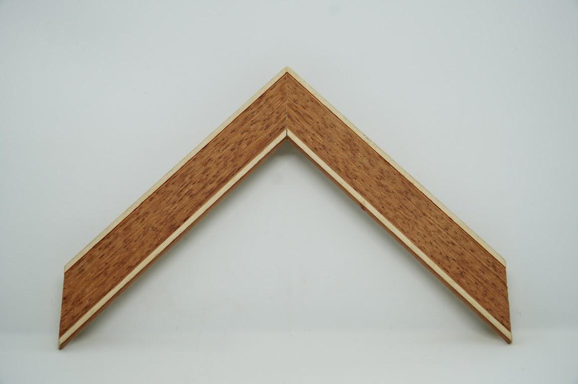 Багет дерев'яний теракот