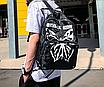 Рюкзак женский Butterfly городской Черный, фото 3