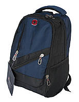 Школьный рюкзак swissgear А815 USB & AUX, синий