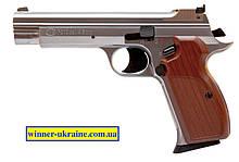 Пневматический пистолет SAS P210 Silver Blowback