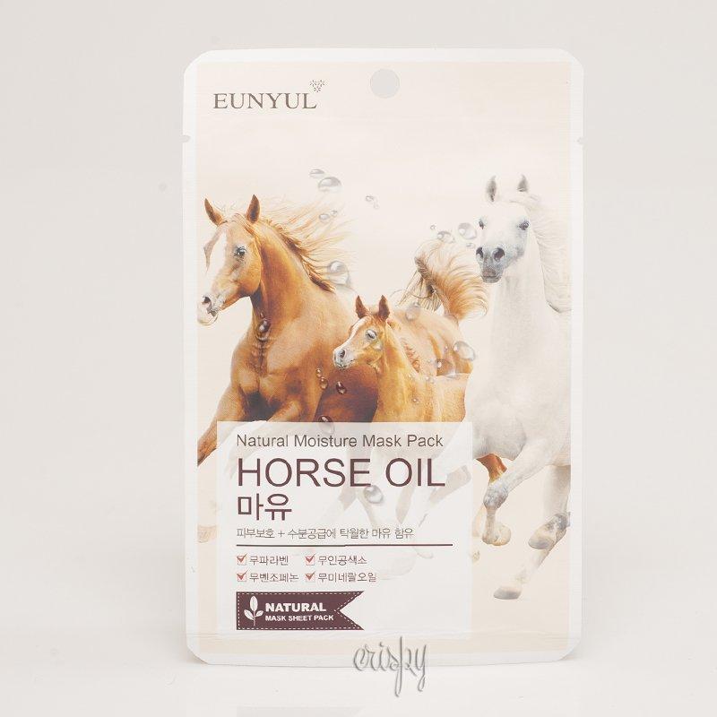Увлажняющая тканевая маска с лошадиным жиром EUNYUL Natural Moisture Mask Pack-Horse Oil