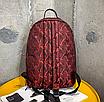 Рюкзак міський жіночий Butterfly Червоний, фото 5