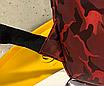 Рюкзак міський жіночий Butterfly Червоний, фото 9