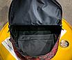 Рюкзак міський жіночий Butterfly Червоний, фото 10