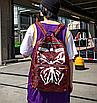 Рюкзак міський жіночий Butterfly Червоний, фото 3