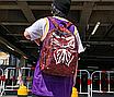 Рюкзак міський жіночий Butterfly Червоний, фото 4