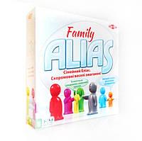 ALIAS Family. Сімейний Еліас. Гра в пояснення слів (укр). TACTIC.