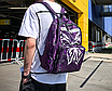 Рюкзак женский Butterfly городской Фиолетовый, фото 4