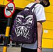 Рюкзак женский Butterfly городской Фиолетовый, фото 3