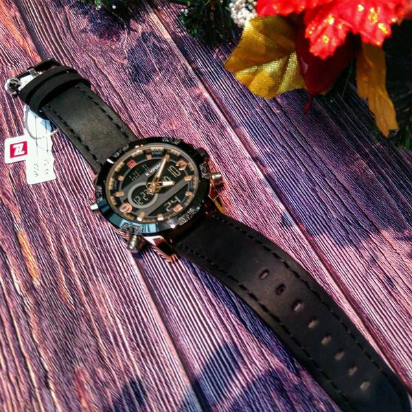 Naviforce Мужские часы Naviforce Kosmos Black NF9097, фото 1