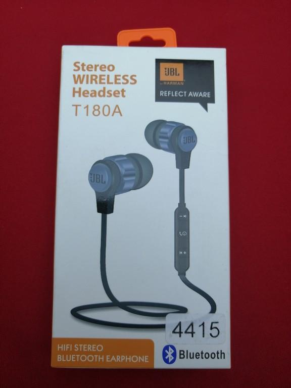 Музичні навушники-вкладиші JBL Т180А