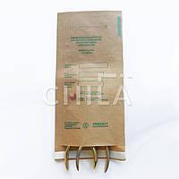 Крафт-пакеты 100*200 мм для сухожара (100 шт) с индикатором
