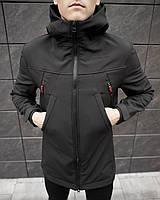 "Парка мужская демисезонная до 0* С / куртка осенне-весення ""MMS "" black"
