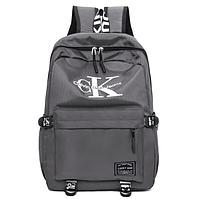 Рюкзак городской Luky Man Серый