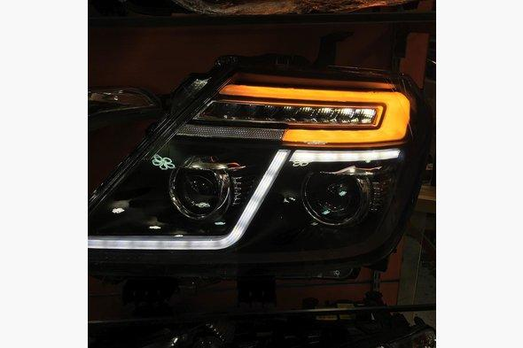 Задние LED фонари Nissan Patrol Y62 2010↗ гг.