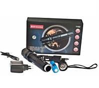 Многофункциональный тактический электро фонарик с отпугивателем Police 1102