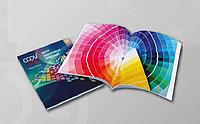 Печать эконом брошюр А4 на скобу мягкая обложка (офисная бумага 80 гр) цветная печать