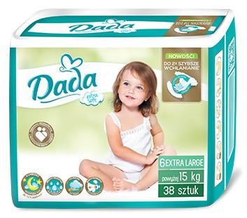 Подгузники Dada ( Дада ) Extra Soft Extra Large 6 (16кг+)  38 шт.