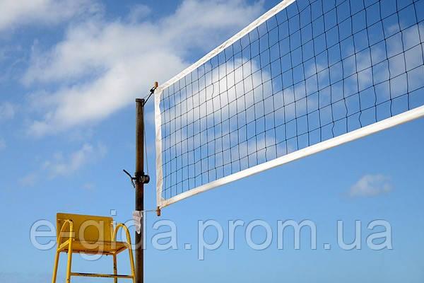 Сітка волейбол ПП100х100х2.2 сетка безузловая волейбольная