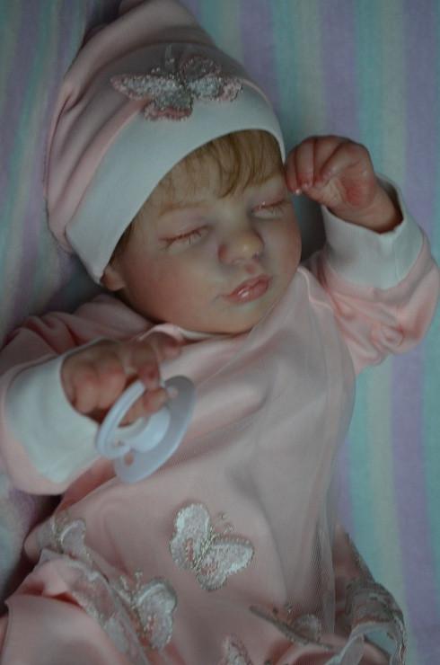 Кукла реалборн сплюшка.Reborn doll.Кукла ручная работа.